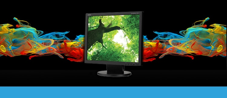 NEC-AS172-BK, (AS172BK) LED-Backlit Desktop Monitor