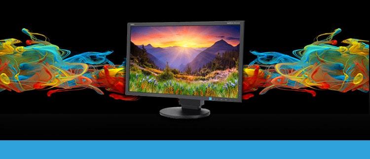 NEC EA234-WMiBK (EA234WMi-bk) LED Backlit Desktop Monitor