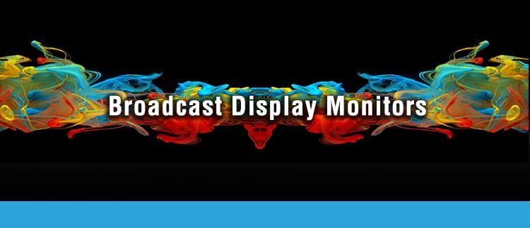 Broadcast Display Monitor Screen Repair Replacement Service