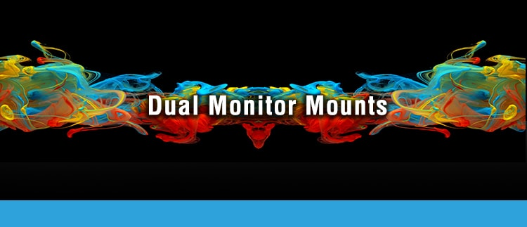 Twin Monitor Mounts for Medical Displays