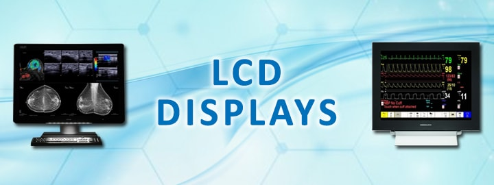 LCD Medical Display Monitors - TOP BRAND LCDS ALL IN ONE PLACE - Surgical Displays, Diagnostic Displays, Medical Displays, Professional Displays