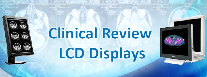 Medical Clinical Review LCD Monitor Displays