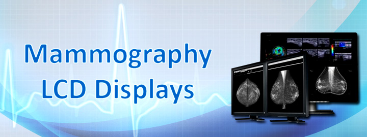 Medical Mammography LCD Monitor Displays