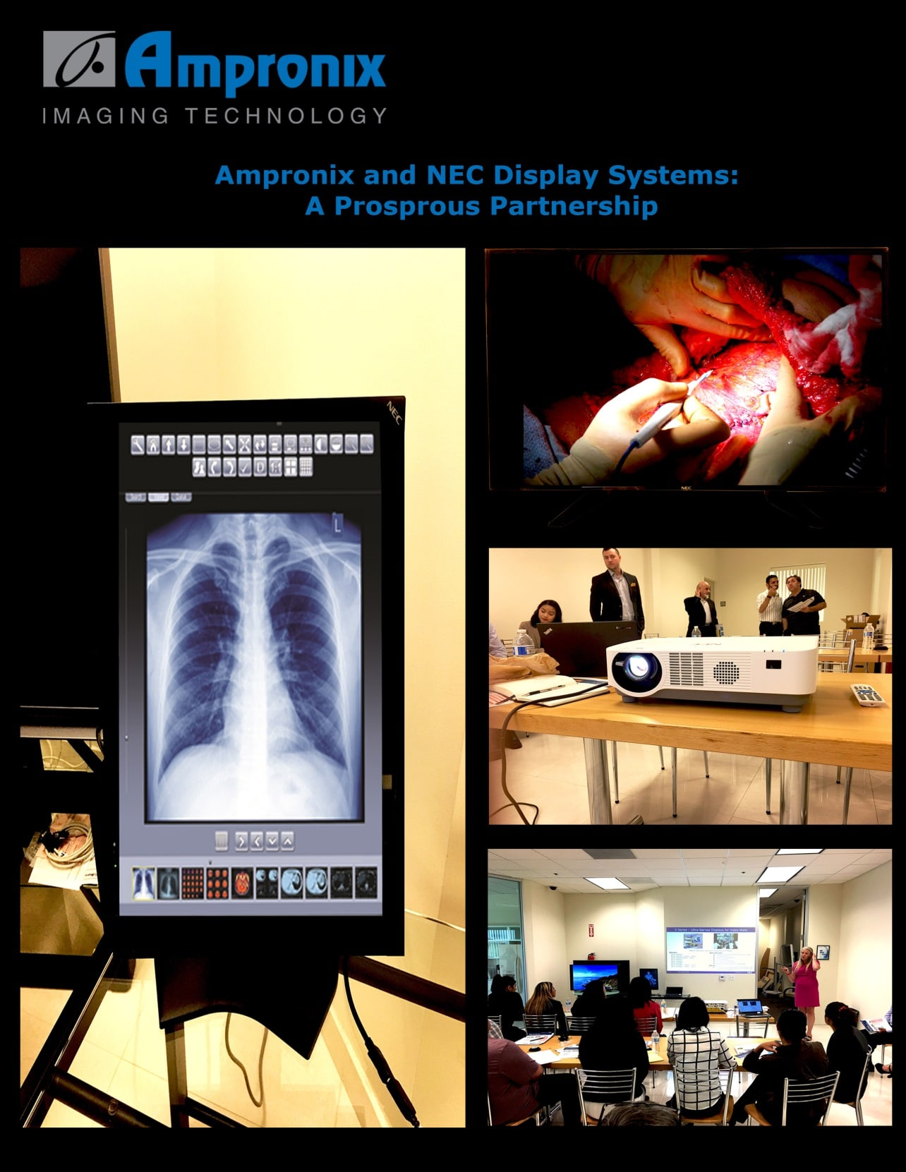 NEC Display Solutions by Ampronix News