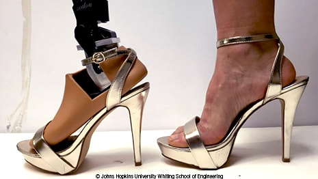 Students Design High Heel Capable Prosthetic for Military Service Amputees