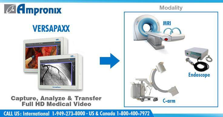 Versapaxx hd medical video by Ampronix News