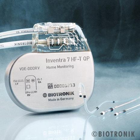 Biotronik's New Implantable Cardioverter Defibrillator