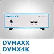 DVMAXX DVMX4K Medical Video Recorder