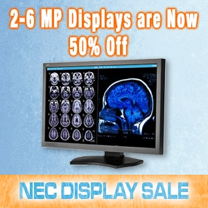 Reduced Pricing on Diagnostic Displays