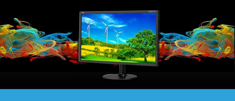 "NEC EX231W-BK Widescreen Ultra Slim 23"" Monitor for Desktop"
