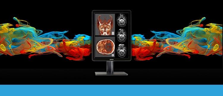 BARCO MDNC-222-1 (MDNC-2221-K9301648A) 2MP Color LED Backlights Diagnostic/Pathology Display