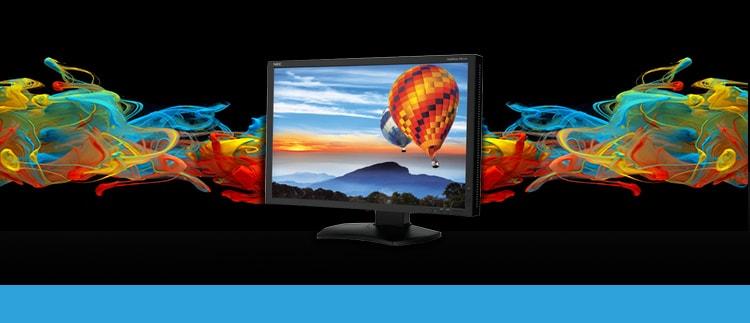 NEC-PA242W-BK Graphics LCD LED Monitor