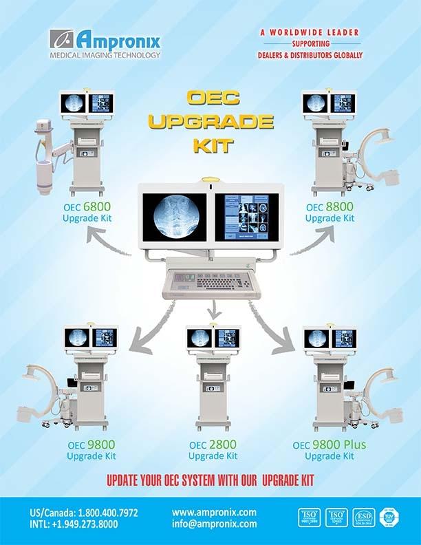 OEC 9800 8800 6800 2800 9800 plus Upgrade by Ampronix