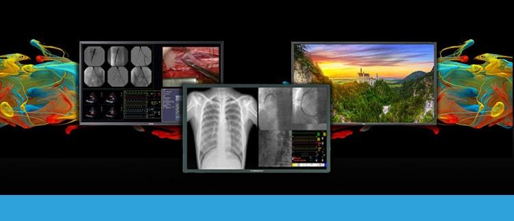 Ampronix sells, services, and repairs various lcd display monitors