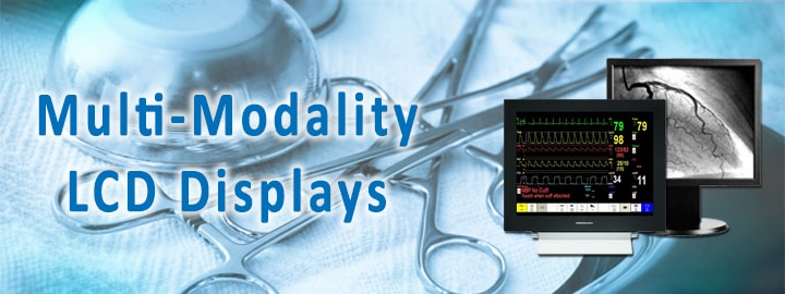 Medical Multi-Modality LCD Monitor Displays