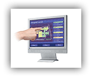 Touchscreen LCD Displays