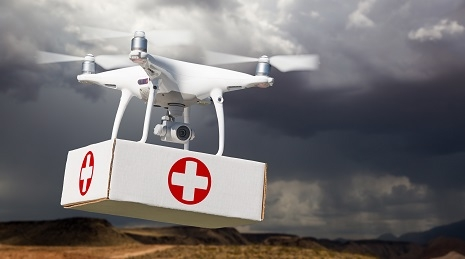 Drone Quickly Delivers Humanitarian Aid and Life – Saving Vaccines