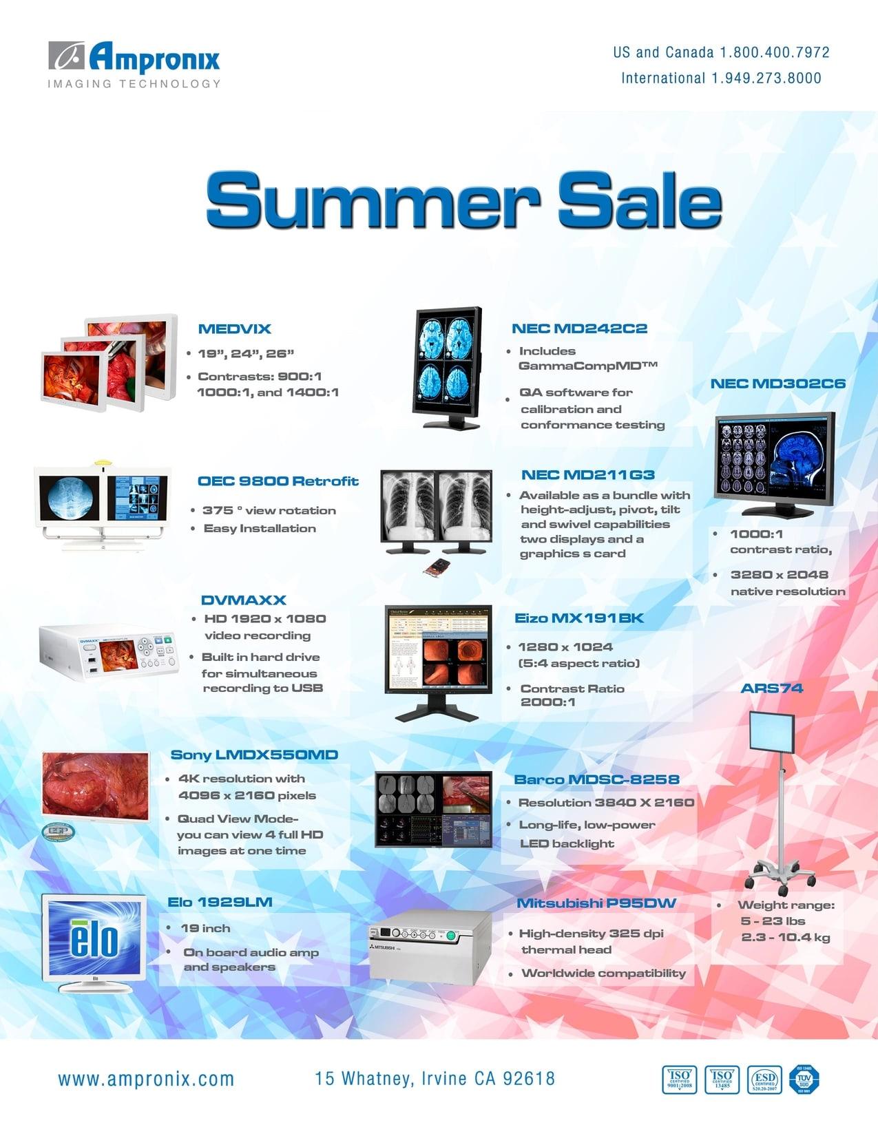 Ampronix Summer Sale