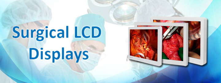 Medical Surgical LCD Monitor Displays