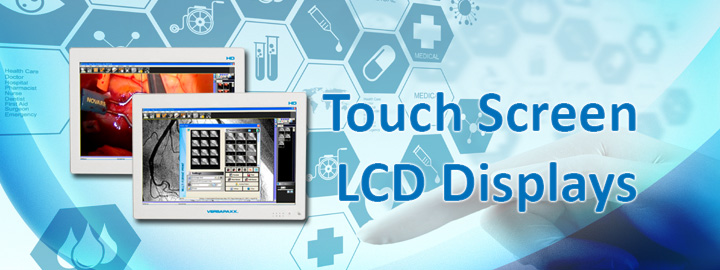 Touch Screen LCD Displays